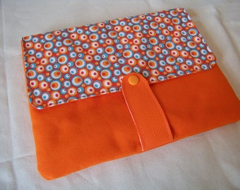 Ipad Tablet cover textile fully lined