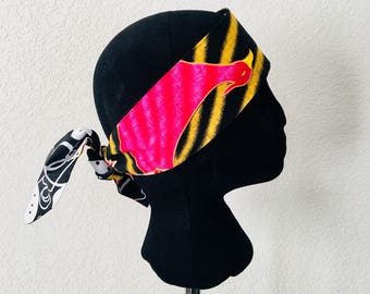 Head Band - African - Band - paradise birds