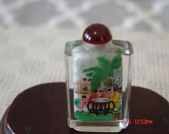 Snuff Bottle Hand Painted