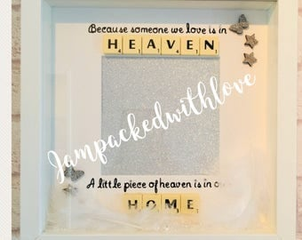 Heaven in our home box frame