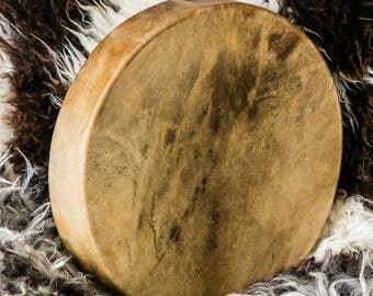 Commission a Red Deer (Scotland) Shamanic Drum & Beater: SAMPLE