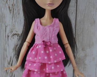 Handmade dress for Monster High,Ever After High dolls