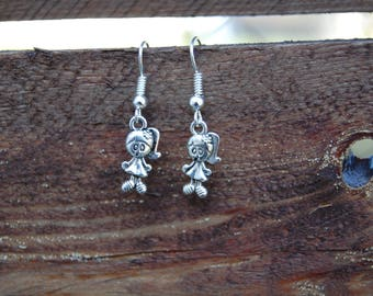 Earrings charms girls, special little girl
