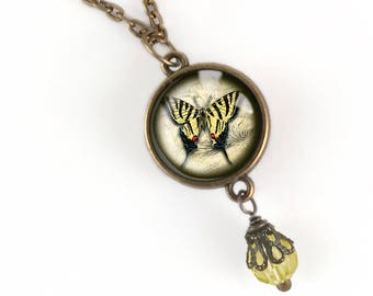 Swallowtail Butterfly Pendant Necklace