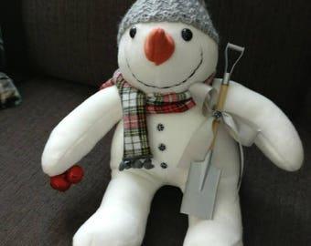 Snowman Stuffed Handmade