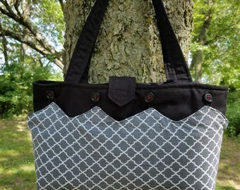 Sewing Pattern for Purse with interchangable cover