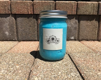 Ocean Breeze: Scented Exfoliating Sugar Scrub (12 oz.)