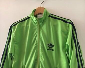 Adidas Tracktop Vintage 90s Sweatshirt sportswear size S