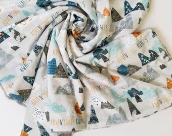 Adventure Baby Boy Blanket, Baby Boy Blanket, Adventure Awaits, Baby Boy Minky Blanket, Minky Blanket, Adventure Minky Blanket, Boy Blanket