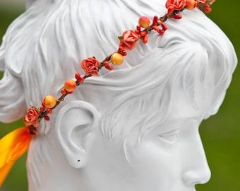 Bright Berry hair wreath