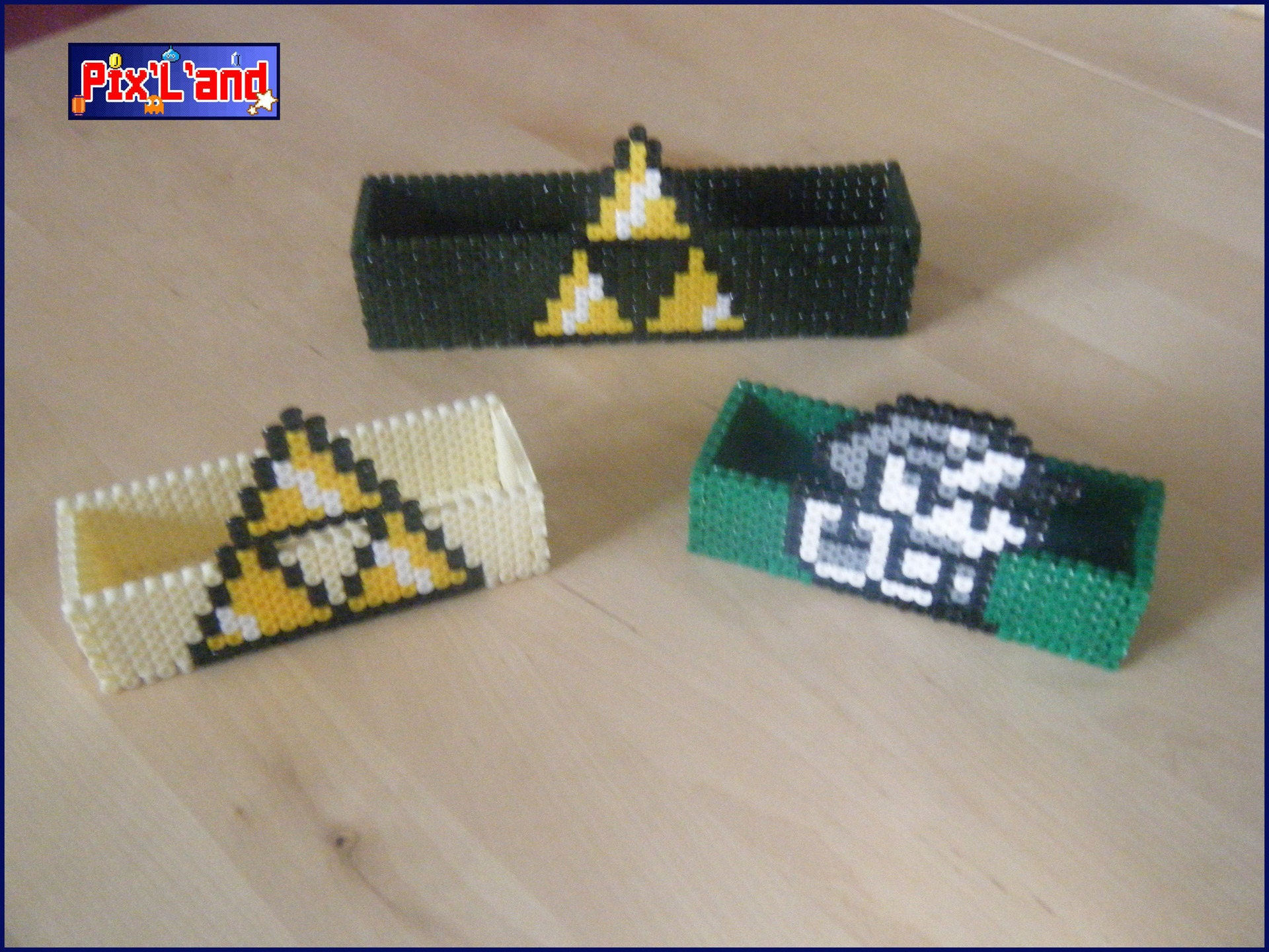 pixel art boite zelda unitair en perle hama midi. Black Bedroom Furniture Sets. Home Design Ideas