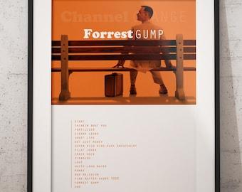 Frank ocean poster, Forrest Gump, Channel orange album poster, Frank ocean wall decor, Frank ocean art, Frank ocean channel orange, hip hop