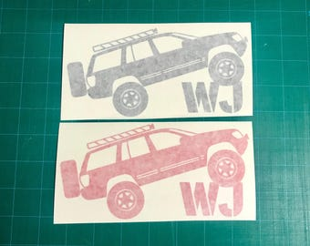 WJ Decal
