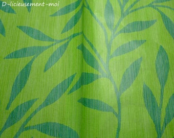Decopatch green bamboo leaf for decoration and collage