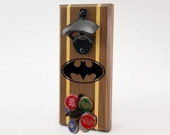 Batman Logo Magnetic Bottle Opener