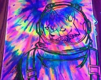 "11""x14"" ""Dark Matter"""