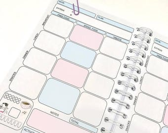 13wk SW Food Diary Diet Journal ,Slimming World Compatible Tracker,Notebook - Choose Your Cover - Food Diary 6