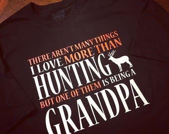 Hunting Grandpa Men's Tee
