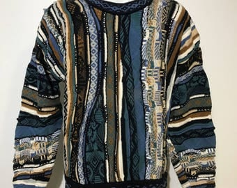 Vintage Coogi Style Sweater L/XL
