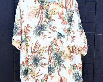 0258 Fiorucci Authentic 50's Hawaiian Shirt