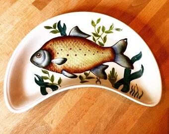 Rare Radford vintage 1940s fish plate