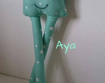 Plush / Plushie made of 100% cotton fabric