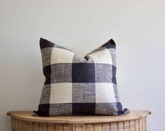 18x18 Rustic Buffalo Check Pillow Cover