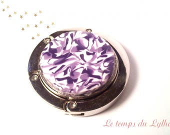 Lilac bag hook