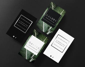Dalure • Premade Minimalist Natural Business Card Design