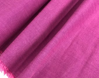 Fucshia Peppered Cotton from Studio E Fabrics, Hot Pink Shot Cotton