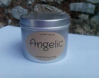 """Handmade """"Angelic"""" Scented Soy Candle 200ml"""