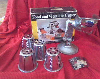 Townecraft,food chopper,made in the USA.Home canning, food processer,