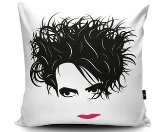 Robert Smith The Cure Cushion