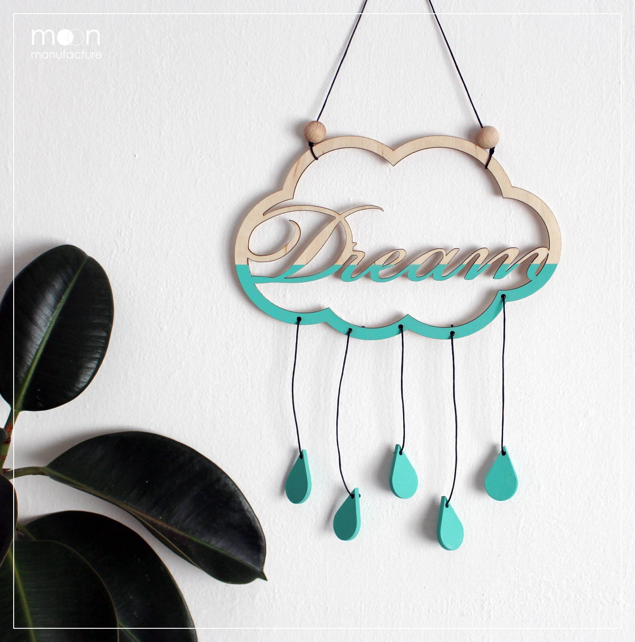 Dream Wood Wall Decor : Dream wooden wall hanging decor woodland