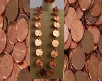 Penny necklace set