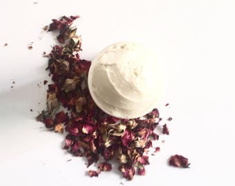 Vanilla Rose Body Butter Whipped Body Butter Lotion Organic Body Butter Vegan Skincare Body Cream Dry Skin Lotion Organic Body Lotion