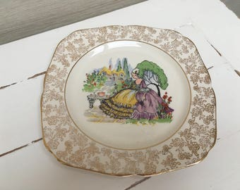 VINTAGE Royal Imperial China Plate