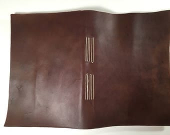 Purple Leather Journal