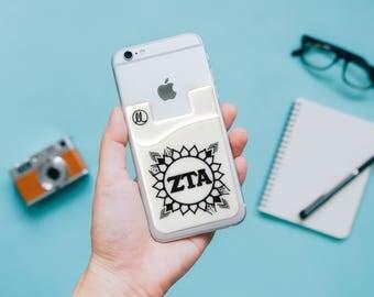 Zeta Tau Alpha Sunflower Phone Wallet