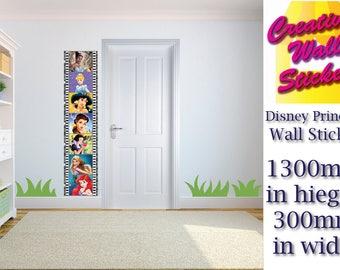 Disney Princesses Wall Art/Decal Sticker Kids Room w30cm x h130cm