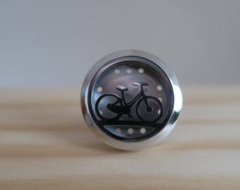 Bicycle Car Diffuser   Aromatherapy   Hypoallergenic   Stainless Steel   Essential Oil   Diffuser Felt Pads   Car Therapy   Clip On Diffuser