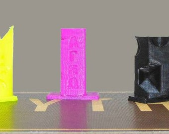 Scythe Game Gear : 3D Building Set