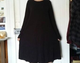 Medium Length Black Dress