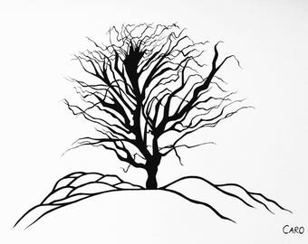 The Tree Of Life Drawing