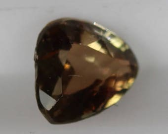 Andalusite 0.27cts Trillion Cut 4.30 x 4.30mm Brazil Q0131 Loose Faceted Gemstone Jewelry Making Gems Affordable Gem