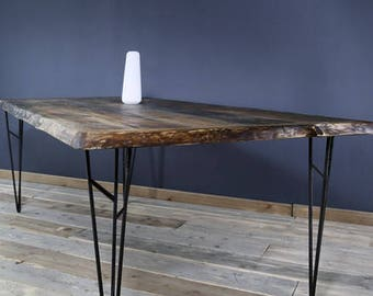 Dining table from lumber, Nathan 200 x 100 cm