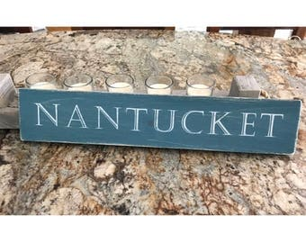New England Sign | Nautical Decor | New England Decor | Nantucket Sign