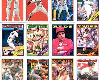1988 Topps Baseball 792 Card Hand Collated Set