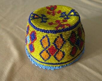 Ethnic Afghan Pashtun traditional hat
