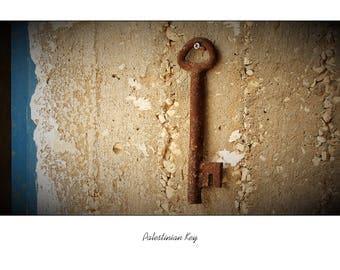 Palestinian Key Blank Card